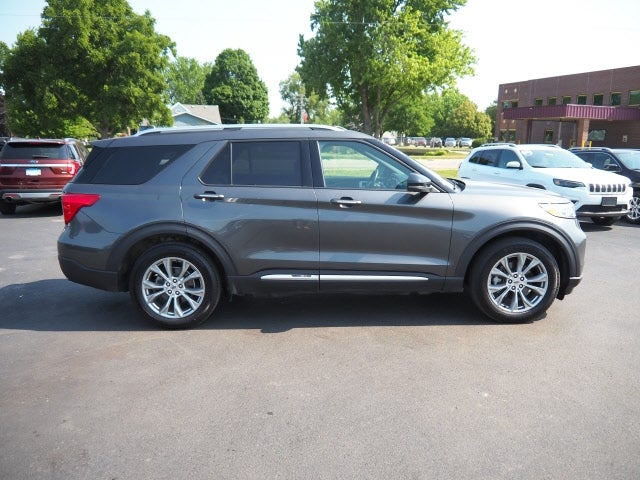 Used 2020 Ford Explorer Limited with VIN 1FMSK8FH3LGB57351 for sale in Zumbrota, Minnesota
