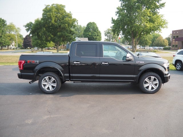 Used 2015 Ford F-150 Platinum with VIN 1FTEW1EFXFFB66801 for sale in Zumbrota, Minnesota