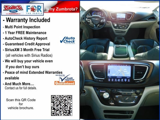 2017 Chrysler Pacifica Touring L Plus Zumbrota Mn Rochester