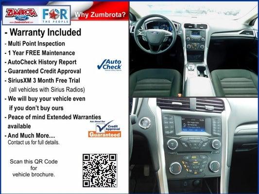 2018 Ford Fusion Hybrid Se Zumbrota Mn Rochester Cannon Falls
